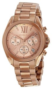 Michael Kors Rose Gold Stainless Steel Casual Ladies Watch