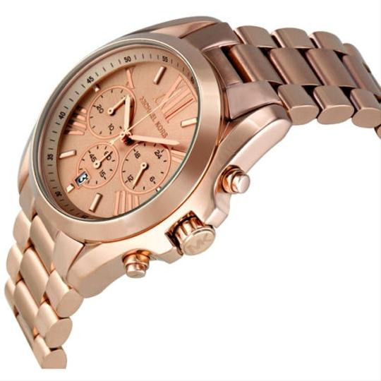 Michael Kors Oversized Stainless Steel Rose Gold Ladies watch