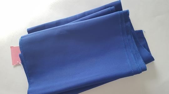 3 Royal Blue Polyester Table Runners