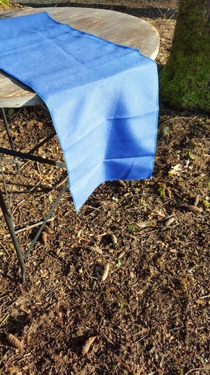 Royal Blue 3 Polyester Table Runners Tablecloth