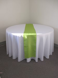 19 Sage Polyester Table Runners Nineteen