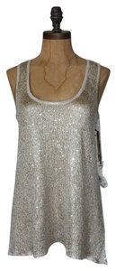 Willow & Clay Sparkle Top GRAY