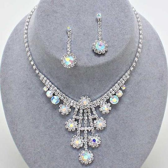 Preload https://item2.tradesy.com/images/ab-crystal-elegant-bejeweled-sparkling-rhinestone-formal-necklace-and-earring-jewelry-set-5337706-0-0.jpg?width=440&height=440