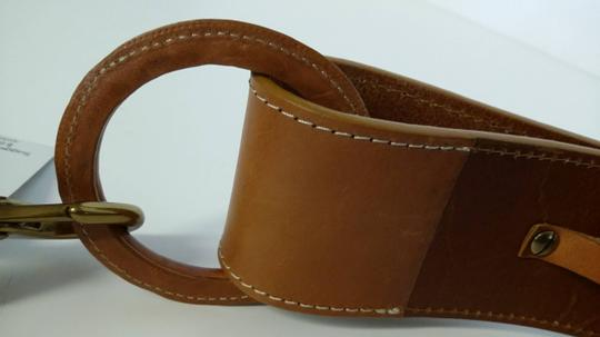 XOXO Heavy Harness Leather Vintage Belt by XOXO New Tan Size Medium Italian Leather Styled After Hermes