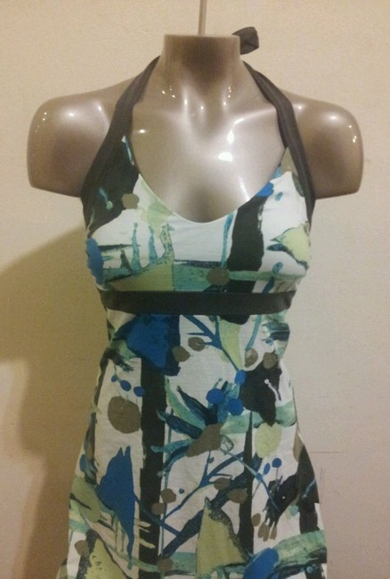 Patagonia short dress Teal, Olive Green, Lime Green Organic Cotton on Tradesy
