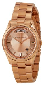 Michael Kors Classic Rose Gold Ladies Casual Watch