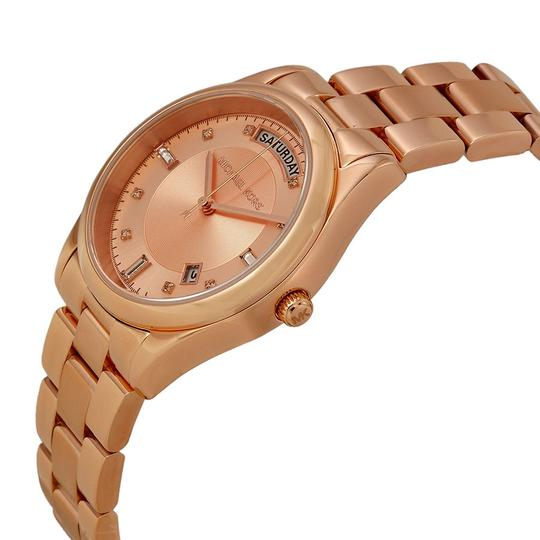 Michael Kors Rose Gold Classic Small Round Dial ladies Watch