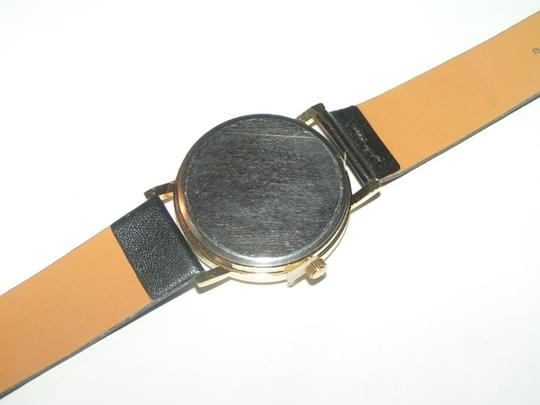 Other BOGO Free Black & Gold Feather Dial Quartz Watch Free Shipping Image 2