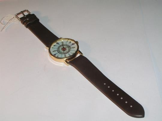 Other BOGO Free Black & Gold Feather Dial Quartz Watch Free Shipping Image 3