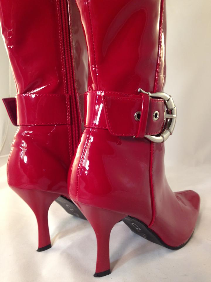 d018ec1acd4 Chinese Laundry Fire Engine Red Sexy Hot Boots Booties Size US 6.5 ...