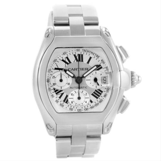 Preload https://item5.tradesy.com/images/cartier-cartier-roadster-chronograph-silver-dial-mens-watch-w62006x6-5338759-0-0.jpg?width=440&height=440
