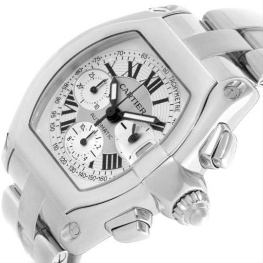 Cartier Cartier Roadster Chronograph Silver Dial Mens Watch W62006x6