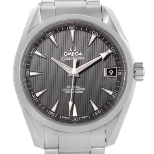 Preload https://img-static.tradesy.com/item/5338888/omega-grey-seamaster-aqua-terra-mens-steel-23110392106001-watch-0-2-540-540.jpg