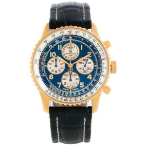 Breitling Breitling Navitimer Airborne 18k Yellow Gold Blue Dial Watch K33030