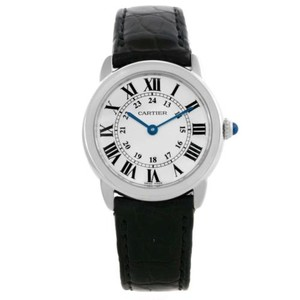 Cartier Cartier Ronde Solo Steel Ladies Silver Dial Watch W6700155