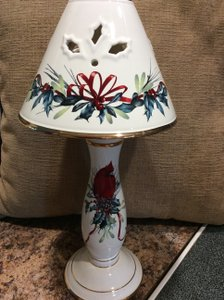 Lenox Winter Greetings Votive Candle Lamp