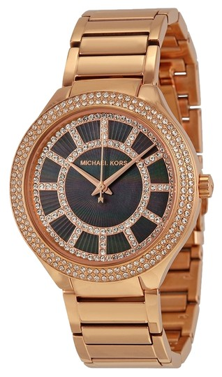 Preload https://item1.tradesy.com/images/michael-kors-rose-gold-ladies-watch-with-black-and-crystals-dial-5339305-0-0.jpg?width=440&height=440