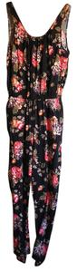 Divided by H&M Floral print one-piece romper