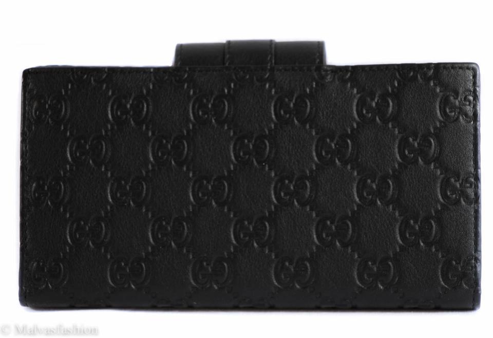 0cda04c1f065 Gucci Gucci 181668 Original GG Leather Continental Wallet Image 6. 1234567