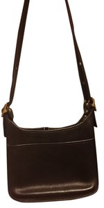 Coach Leather Gold Handbag Shoulder Bag