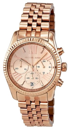 Preload https://item3.tradesy.com/images/michael-kors-textured-stainless-steel-rose-gold-casual-designer-ladies-watch-5339722-0-0.jpg?width=440&height=440