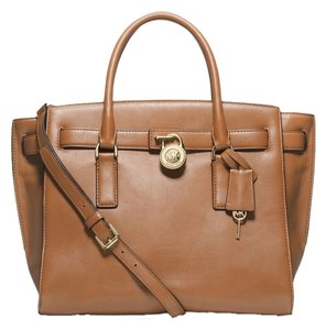 Michael Kors Satchel in Brown ( Suntan )