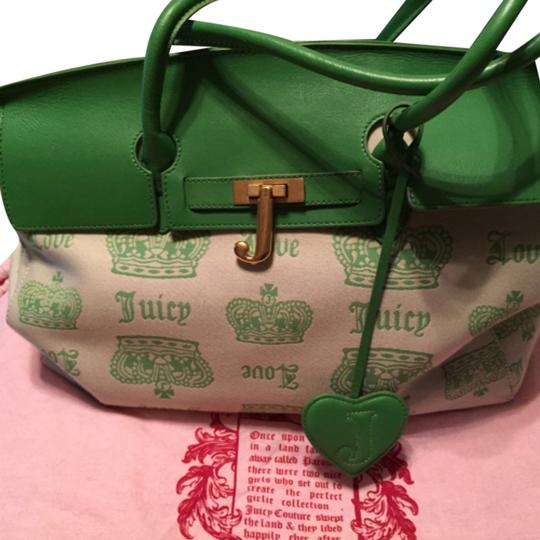 Juicy Couture Green Travel Bag