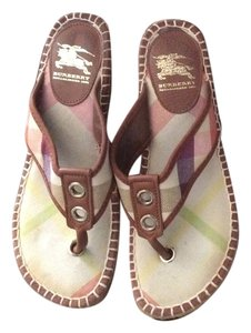 Burberry Multi Wedges