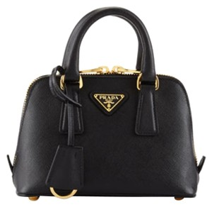 f051df416435 Added to Shopping Bag. Prada Mini Leather Saffiano Card Cross Body Bag. Prada  Promenade Saffiano Mini Black Nero ...