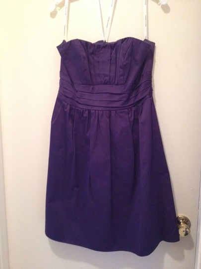 Preload https://item2.tradesy.com/images/david-s-bridal-purple-cotton-83312-casual-bridesmaidmob-dress-size-12-l-53406-0-0.jpg?width=440&height=440