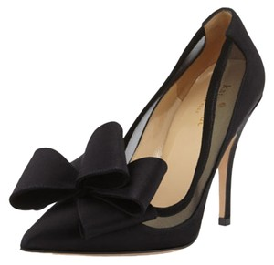 Kate Spade New York Satin Black Pumps