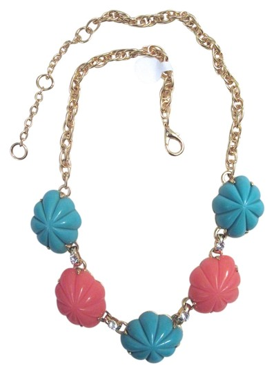 Preload https://item5.tradesy.com/images/gerard-yosca-turquoise-coral-gold-cabochon-plated-signed-necklace-5340754-0-0.jpg?width=440&height=440