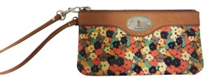 Fossil Leather Wristlet in Multi-color