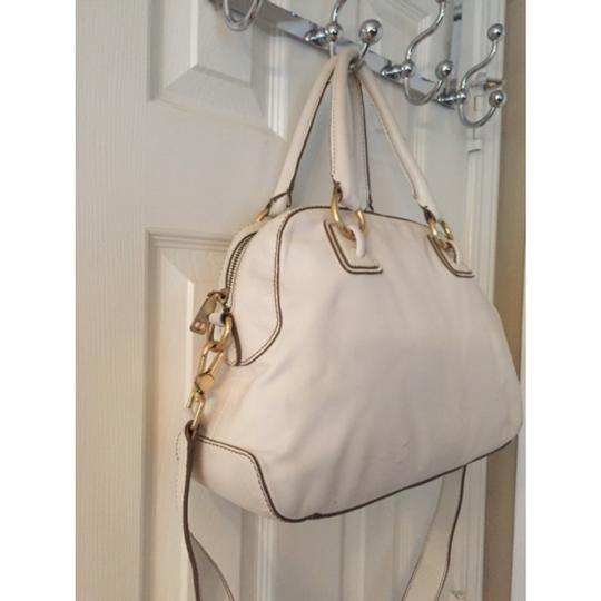 Talbots Satchel in White Gold Image 1