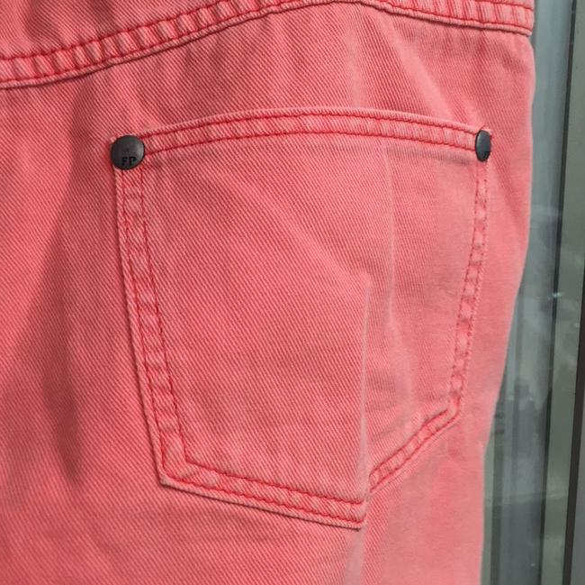 Free People Cut Off Shorts Pink