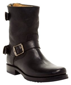 Frye Veronica Ankle Black Boots