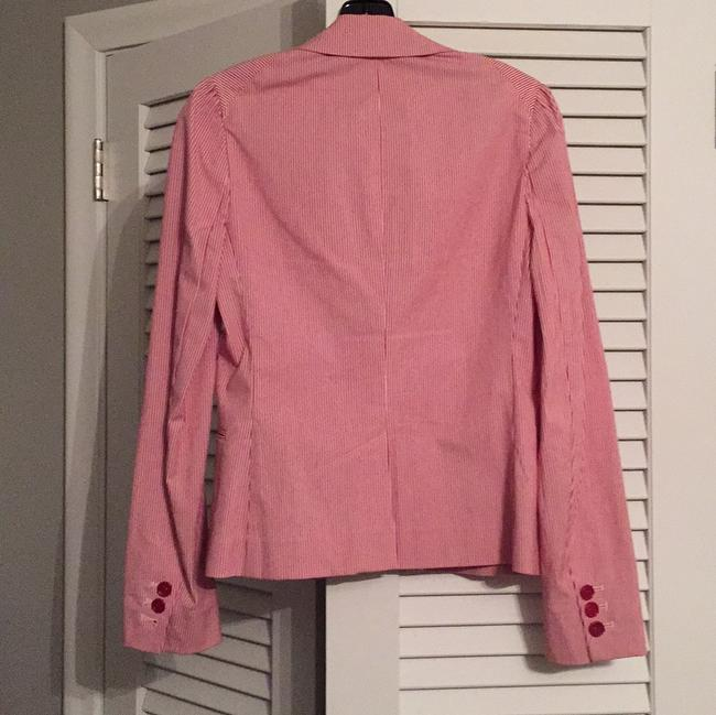 Theory Red and white Blazer