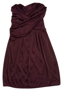 Express Strapless Grecian Dress