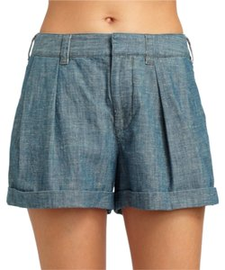 Marc by Marc Jacobs Jean High Waist Bermuda Shorts Blue