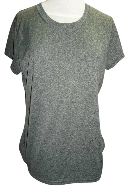 Champion Champion Heather Gray Tee, From Vapor Power Train Collection,Size Large