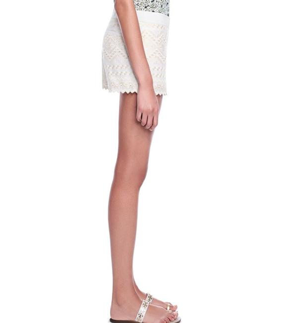 Tory Burch Tb Veronique Summer Spring Wedding Beach Cover-up Graduation Boat Pool Polo Off Beige Creme Cream Nude Ivory Lilly Tv Dress Shorts White Image 7