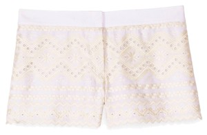 Tory Burch Tb Veronique Dress Shorts White