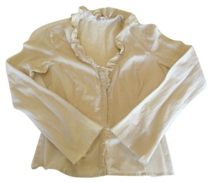 Anthropologie Top Cream/Beige