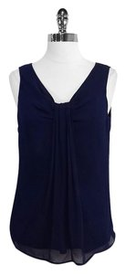 St. John Silk Sleeveless Top