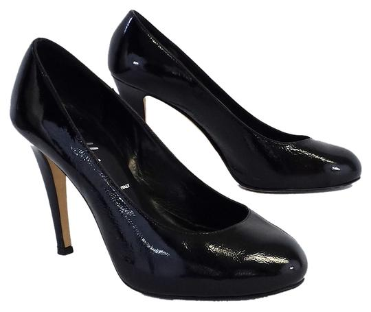Butter Patent Leather Pumps
