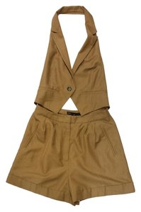 Marc by Marc Jacobs Vest Shorts Open Back Romper Dress