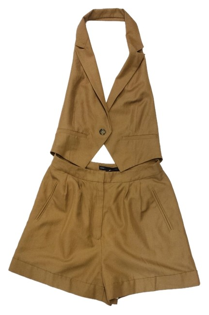 Marc by Marc Jacobs Vest Shorts Open Back Dress