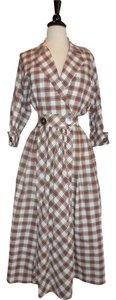 Plaid Maxi Dress by Other Long Holiday Vintage Christmas Thanksgiving