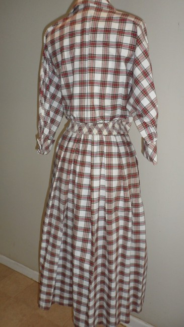 Plaid Maxi Dress by Other Long Holiday Christmas Thanksgiving