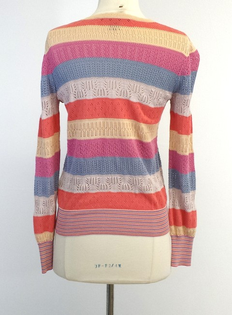 Marc by Marc Jacobs Knit Striped Cotton Cardigan